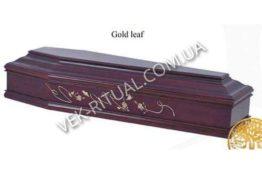 Гроб Gold leaf
