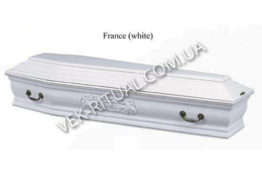 COFFIN VIP Гроб France (white)