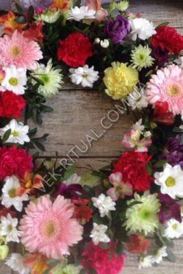 Икебана на гроб 1