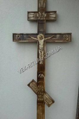 Деревянный крест 13