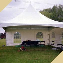 шатер на похоронах