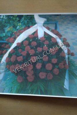 Букет из живых цветов 30