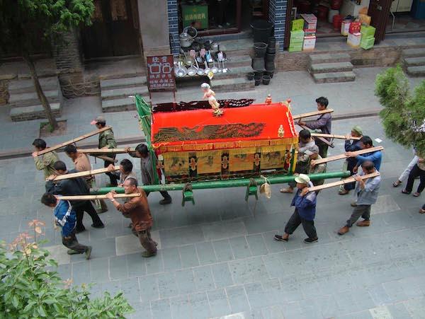 Похорон в Китаї