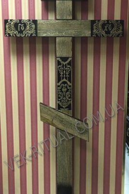 Деревянный крест 14