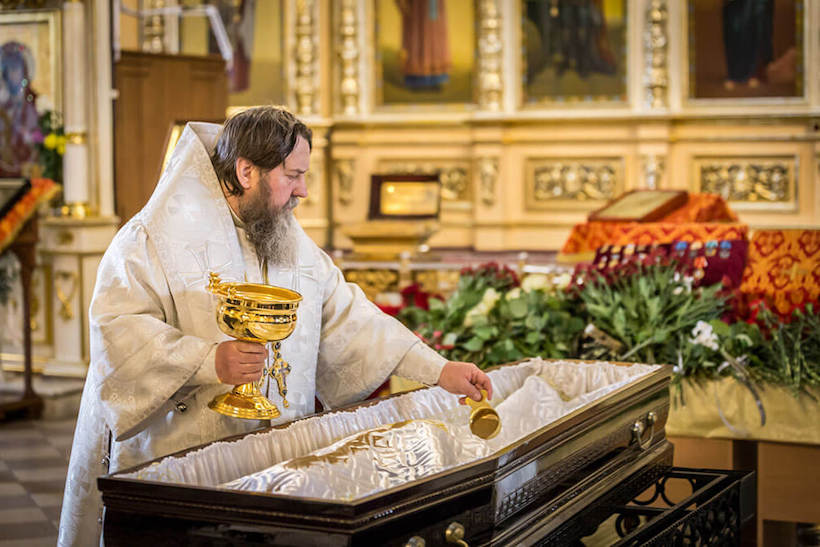 funeral in Orthodoxy