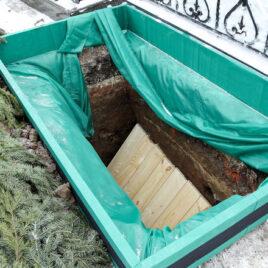 Правила погребения тела у татар